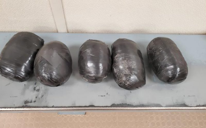 Kettlebell-Packs full of Methamphetamine Hurled into the U.S.