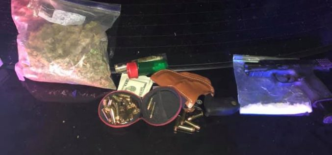 Modesto man arrested for drugs and a stolen gun
