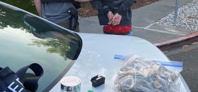 Napa juvenile with a loaded gun and drugs