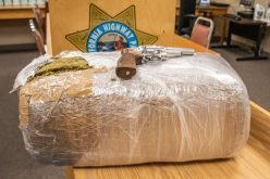 22-pound bale of weed discovered during traffic stop in Merced County