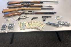 Man nabbed with seven guns and heroin
