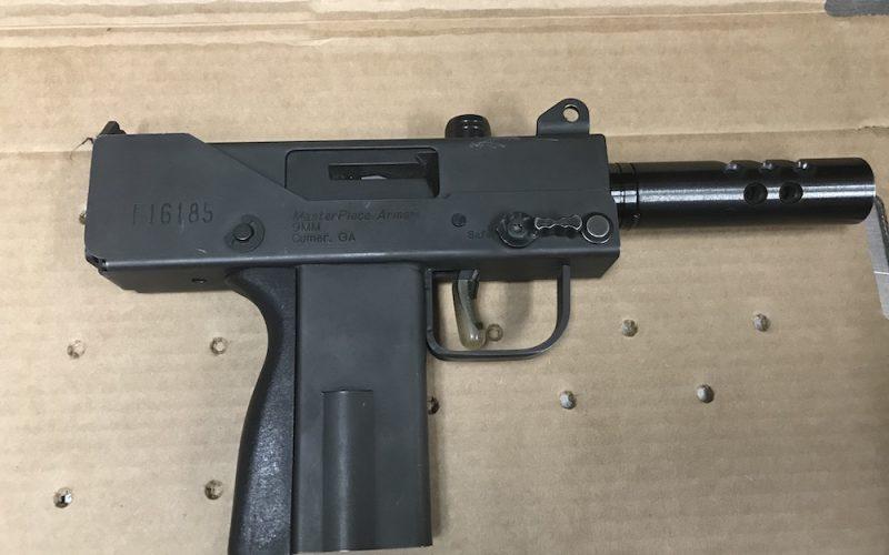 Man on felony probation caught with allegedly stolen handgun