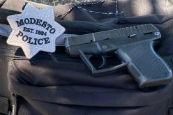 Modesto man arrested for alleged possession of stolen handgun