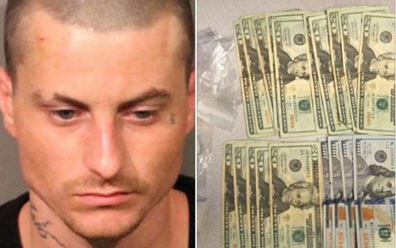 Man arrested with heroin, meth, paraphernalia, cash