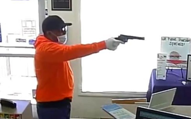 Man Arrested for Robbing Bank Three Times