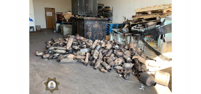 Thousands of allegedly stolen catalytic converters recovered in Elk Grove
