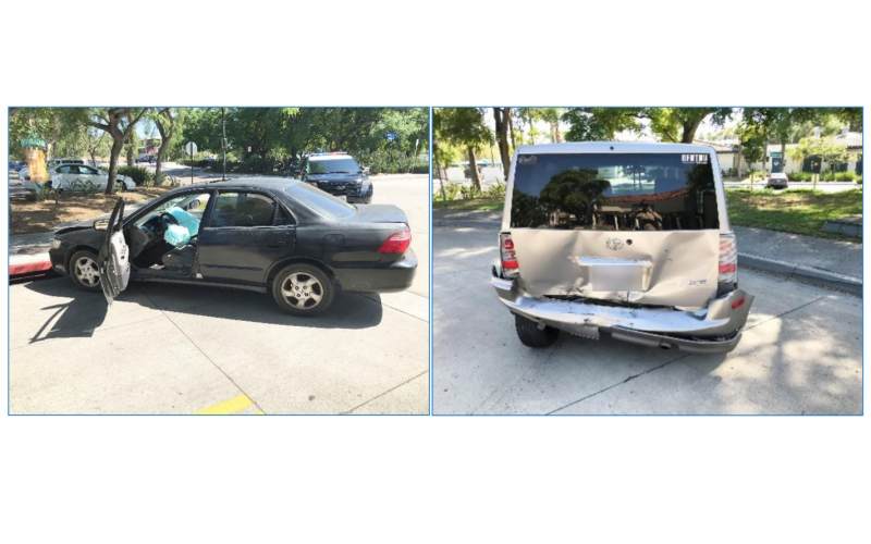 Two arrested on suspicion of carjacking, hit-and-run