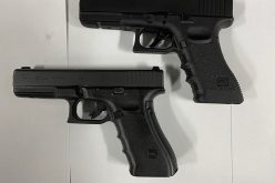 Man holds off cops with imitation firearm