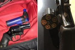 Man with active warrant carries loaded guns and meth
