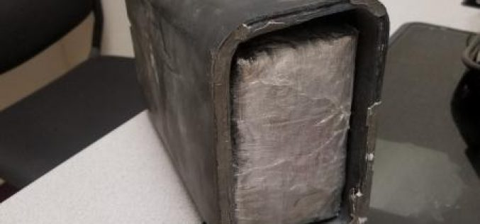 Man tries to smuggle black tar heroin in his truck's engine