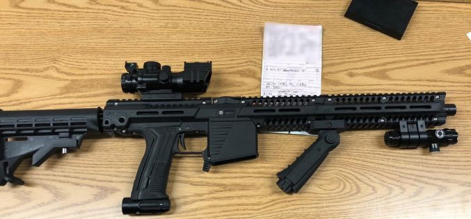 Road Rager Arrested for Pointing a Paintball Rifle at Another Motorist