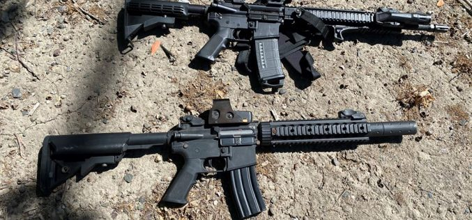 Can you tell which assault rifle is fake?