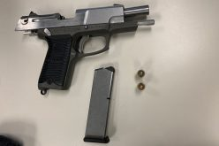 Man crashes vehicle attempting to flee with loaded gun