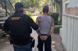 Probation violator caught with cocaine
