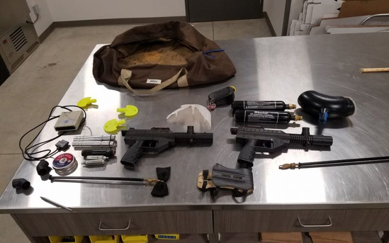 Man arrested with numerous stolen items