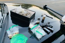 Three arrested on various charges after Folsom traffic stop