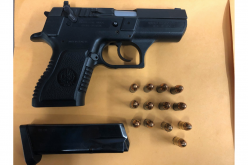 Fairfield man booked for unlawful firearm possession