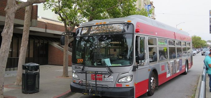 Suspect arrested in San Francisco MUNI bus assault