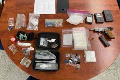 Running man caught with meth, heroin, and stolen gun