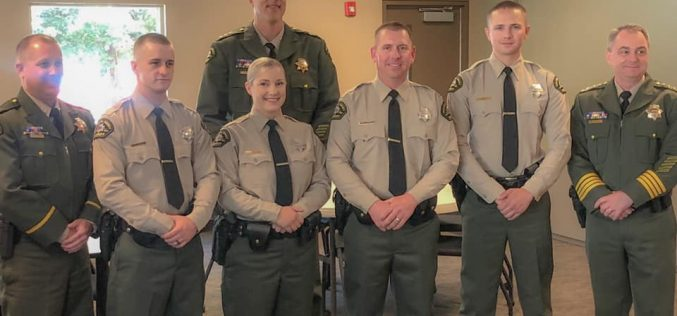 Tuolumne County Sheriff's Department welcomes four new deputies