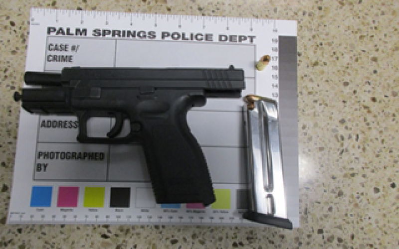 Traffic stop leads to arrest and a firearm charge