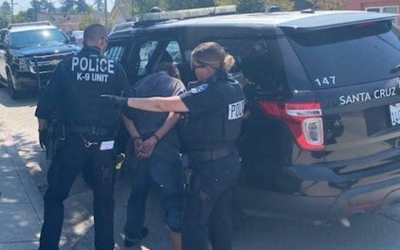 Santa Cruz Police says, 'Gotcha!'
