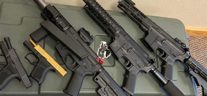 Cache of machine guns, other weapons located after traffic stop in Napa County