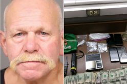 Man arrested for dealing drugs from a house