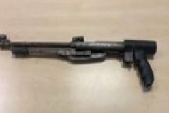 Man with replica shotgun eventually arrested