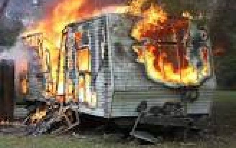 Daughter Charged with Setting RV Family Residence on Fire