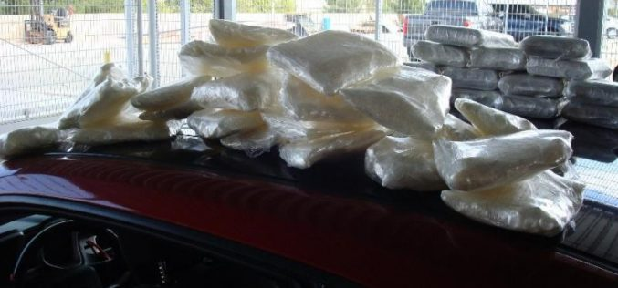 USBP Seizes More Than 100 Lbs. of Hard Narcotics