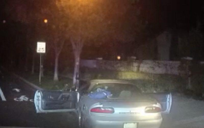 An 18-Year-Old Crashes a Car and Pulls a Gun on a Good Samaritan