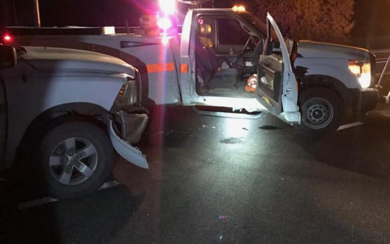 Reckless DUI driving with three guns