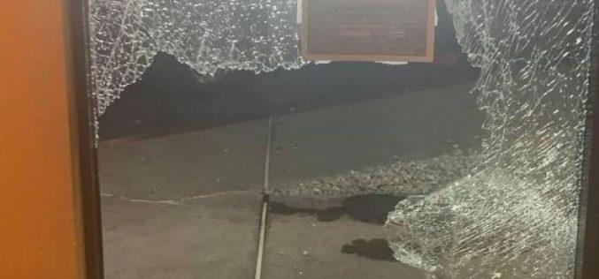 Fleeing Suspect Crashes Through Picture Window