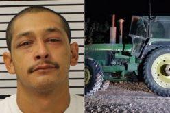 Man Arrested for Joyriding on Stolen John Deere Tractor