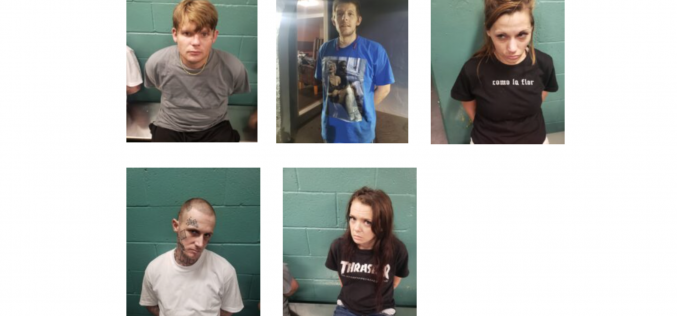 Redding Police arrest group accused of selling drugs out of hotel rooms