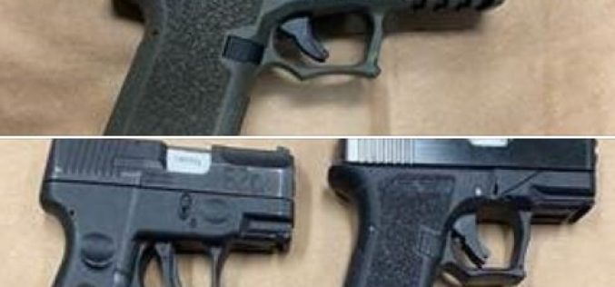 Gang related arrests, guns confiscated