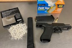 Merced Police's gang unit serves warrant, confiscates gun and narcotics