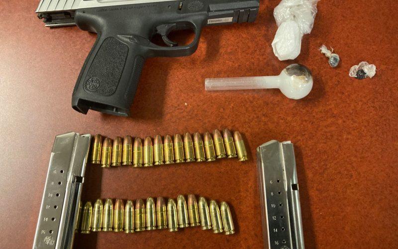 Lincoln Police: Gun, narcotics, paraphernalia found during enforcement stop
