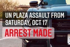 Assault suspect doesn't believe in free speech