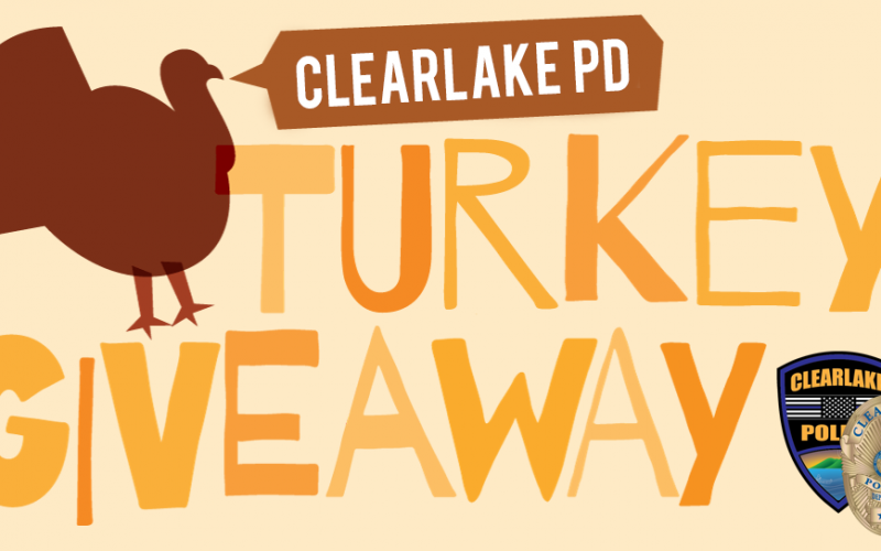 Clearlake Police Department assist needy families with Thanksgiving dinner