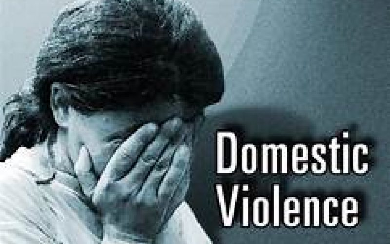Domestic violence in the middle of the night
