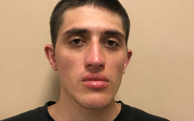 Man arrested casing cars, has drugs and paraphernalia