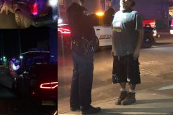 DUI driver bounces twice over curb