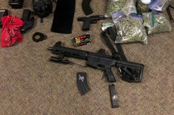 Convicted felon drives with two guns and an armed passenger