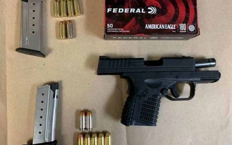 Man Driving Around with a Toddler is Arrested for Carrying a Loaded Firearm
