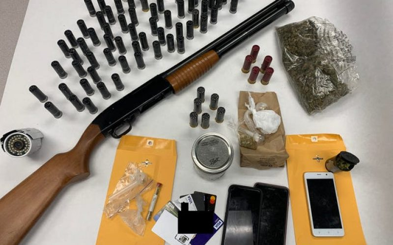 Drug, Weapons, ID Theft Arrests