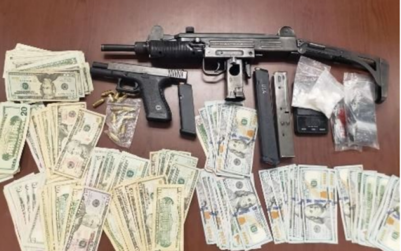 Shooting Up Cars – Investigation Search Produces Juvenile with Multiple Weapons
