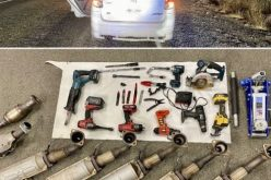 Catalytic converter thief caught with seven of them