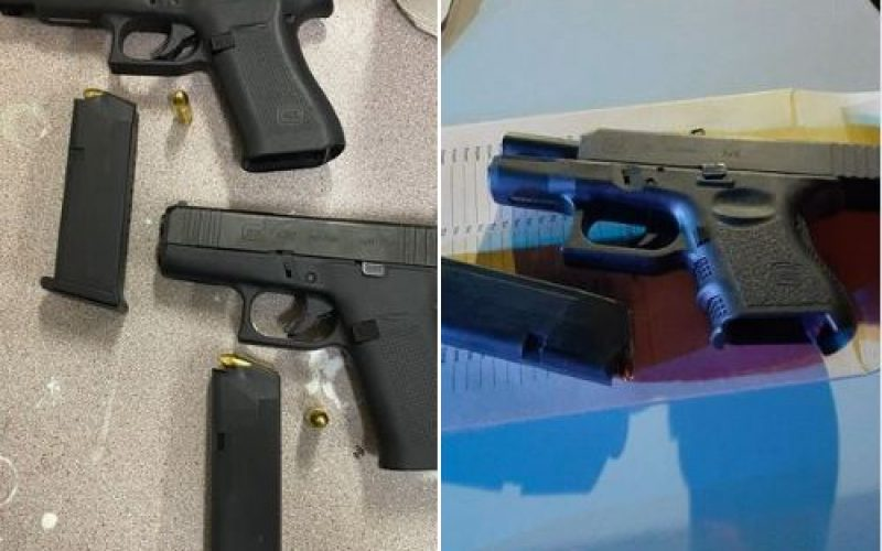 Joint operation nets arrests and gun confiscation